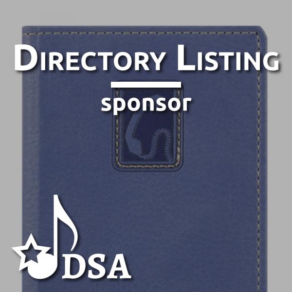 Sponsor Directory Listing