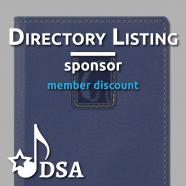 Sponsor Directory Listing – Member Discount